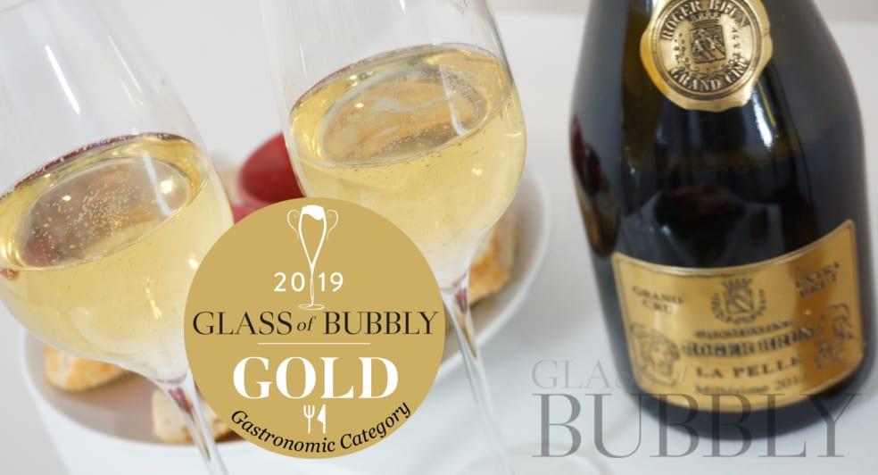 Gold Medal Gastronomic 2019 La Pelle Champagne Roger Brun