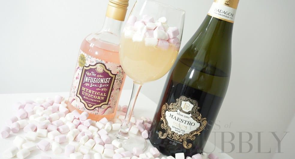 Mystical Unicorn Cocktail