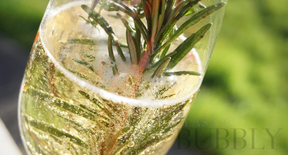 How To Make A Rosemary & Thyme Cocktail