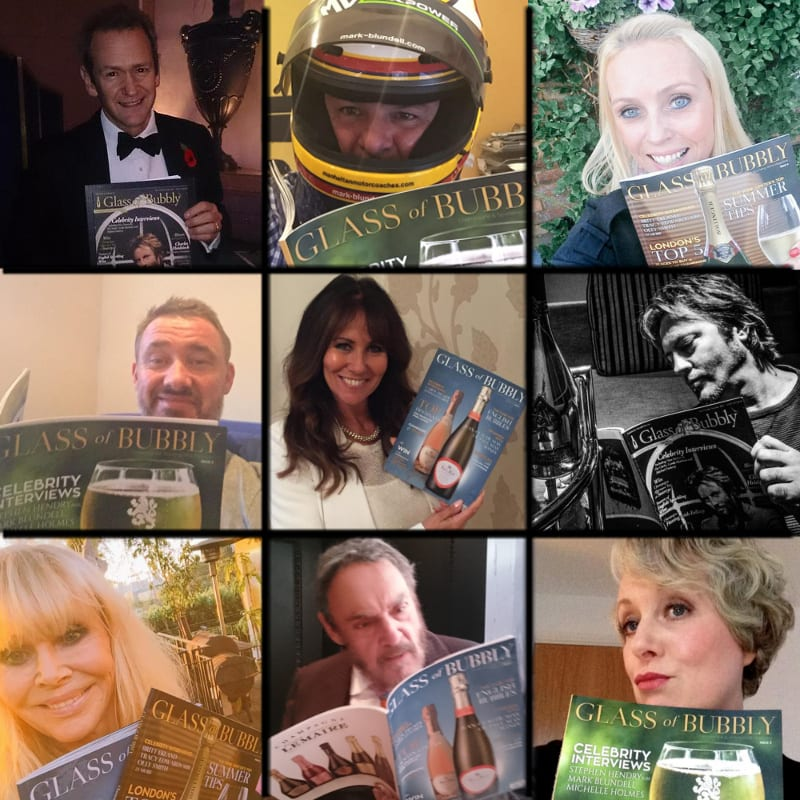Glass of Bubbly Celebrity Readers