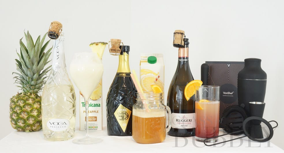 3 Fun & Easy Prosecco Cocktails
