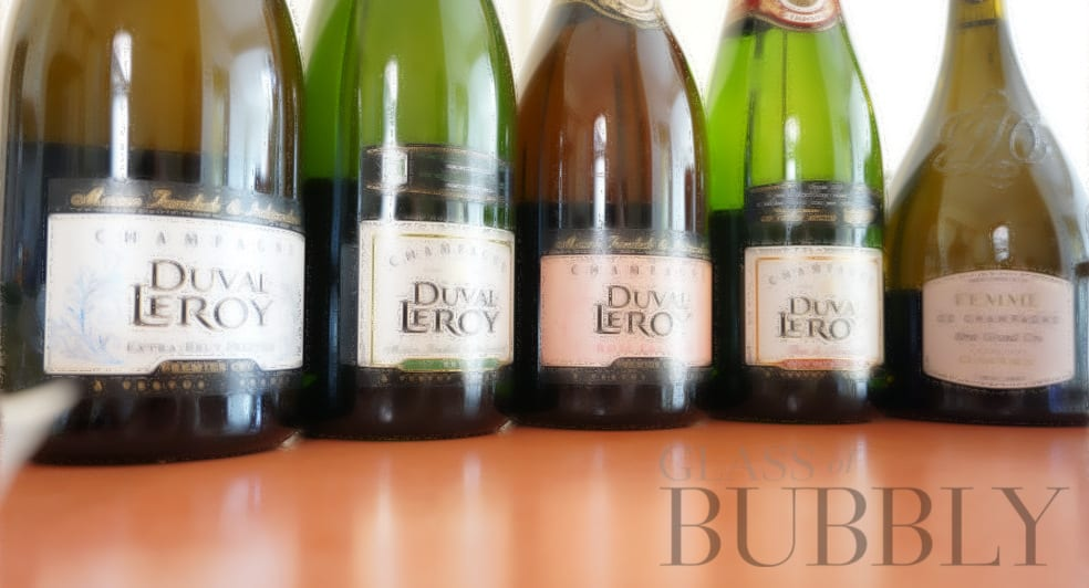 Champagne Duval-Leroy labels