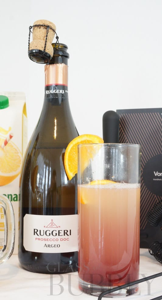 Prosecco Firefly Cocktail