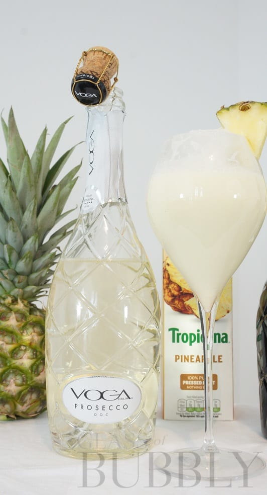 Piña Colada Prosecco Cocktail