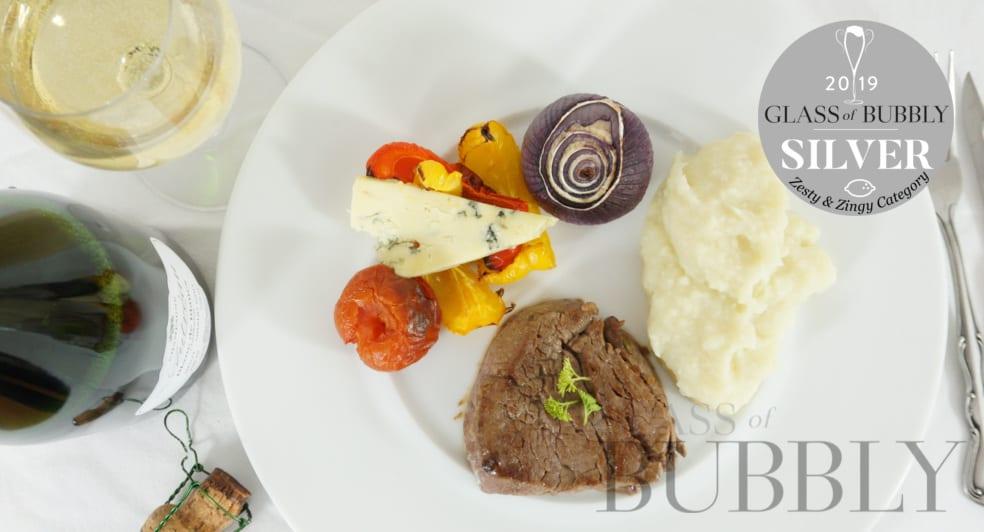 Champagne Autréau – Blanc de Blancs Grand Cru NV - Paired with Fillet Steak