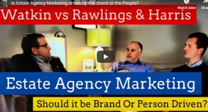 Is Estate Agency Marketing driven by the Brand or the People