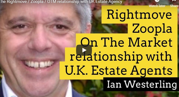 The Rightmove Zoopla OTM relationship with UK Estate Agency