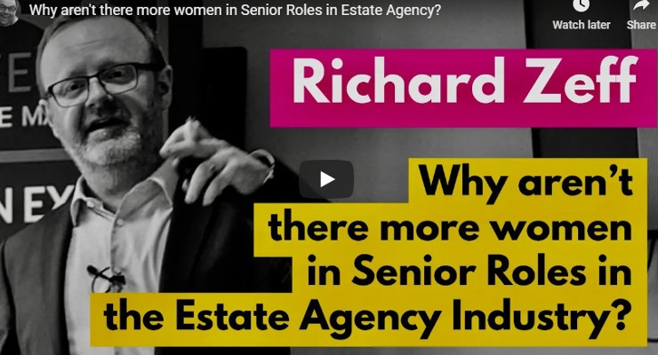 Why aren't there more women in Senior Roles in Estate Agency