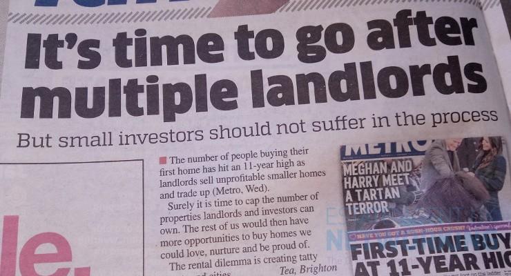 multiple landlords