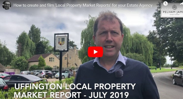 How to create and film Local Property Market Reports for your Estate Agency