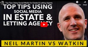 Top Tips Using Social Media for Estate & Letting Agents