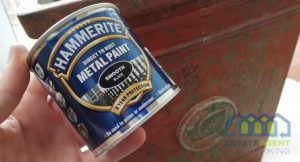 Hammerite direct to rust metal paint