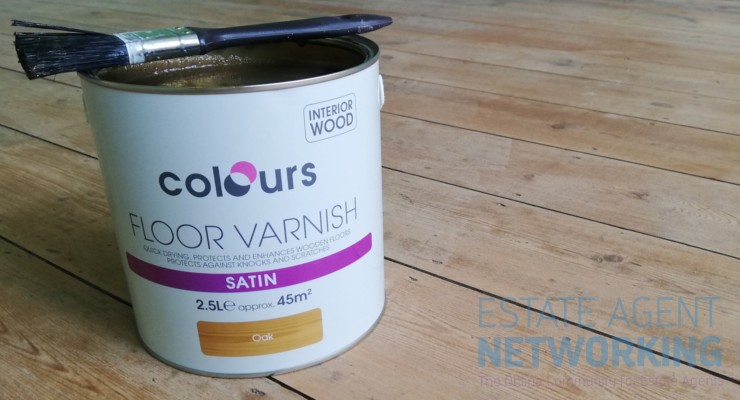 Colours Floor Varnish Satin Oak