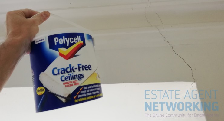 Review Polycell Crack Free Ceilings