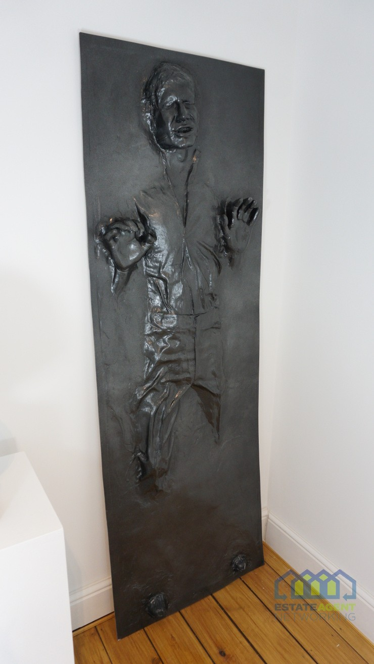 Han Solo in Carbonite full size