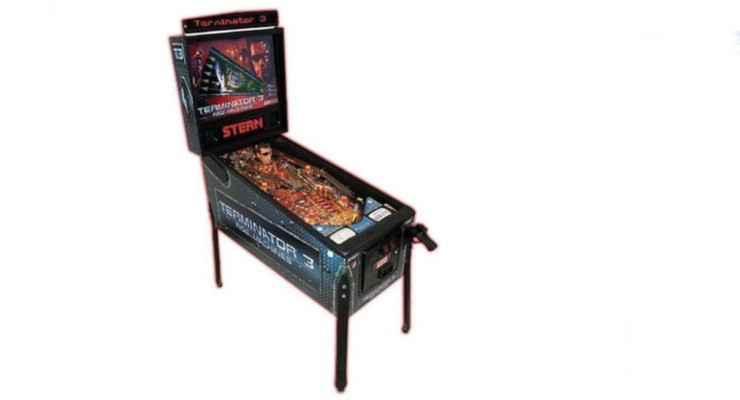 Terminator Rise of the Machines Pinball Machine
