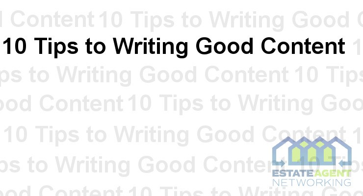 10 Tips to writing good Content