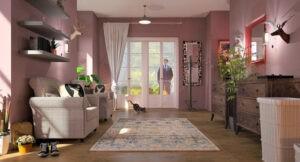 Hallways in property
