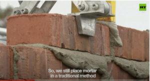 Robot bricklayers