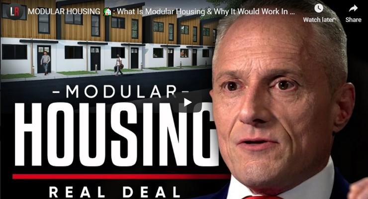 Brian Rose London Mayor Modular Housing