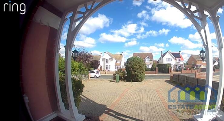 Ring door bell home view