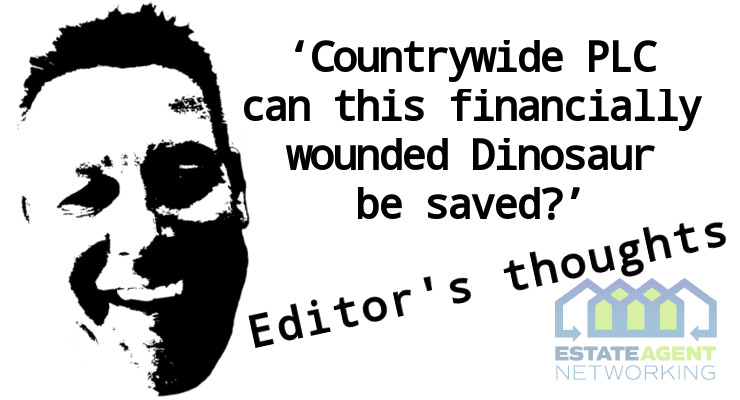Countrywide PLC can this financially wounded Dinosaur be saved
