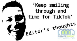 Keep smiling through and time for TikTok