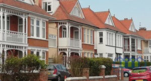 Many seaside towns contain large guests houses now converted to luxury homes