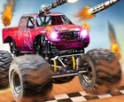 Monster Truck vs Zombie Death Shooting Game