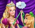 Rubia Princesa Sastre Mágico