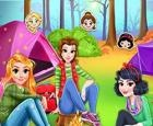 Viaje escolar de campamento