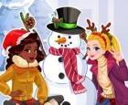 ¿Quieres construir un muñeco de nieve?