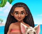 Princesa polinesia estilo aventura