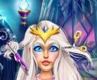 Snow Queen Real cortes de pelo