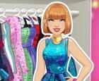 Armario de la estrella del pop de Taylor