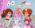 Fiesta del té del país de las maravillas