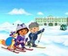 Dora y sus amigos en la nieve