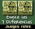 7 diferencias, edicion retro.