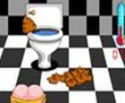 Cagadas en el WC
