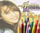 Dibujos para Colorear de Hannah Montana