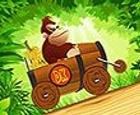 Donkey Kong carrera en la jungla