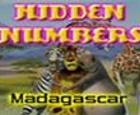 Juego de numeros ocultos de la pelicula Madagascar