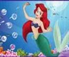 El juego de maquillar a la Sirenita Ariel