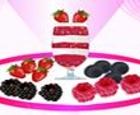 Batido de fresas, ciruelas y moras (Berry Parfaits)