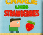 Charlie le gusta las fresas