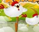 Saltos de pollo