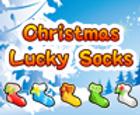 Calcetines de la suerte de navidad