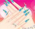 Diseño de uñas fresco