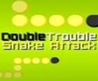Ataque de serpiente de doble problema