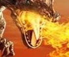 Dragón contra humanos